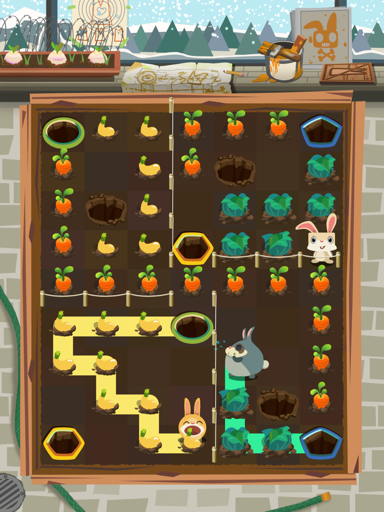 Patchmania Game Screenshot